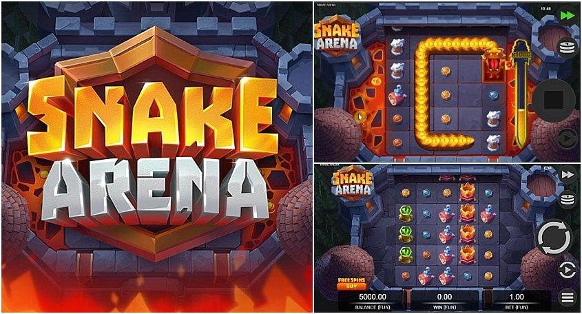 เกมสล็อต Snake Arena แสนสนุก